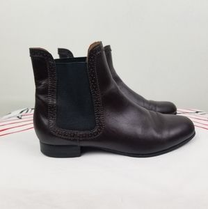& Other stories Brown Leather Booties